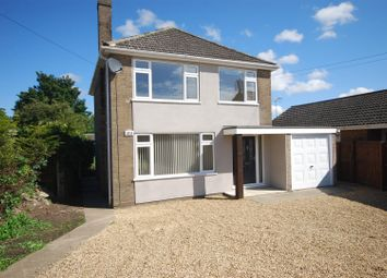 Thumbnail 3 bed detached house for sale in High Road, Moulton, Spalding