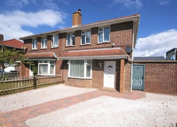 Thumbnail 3 bed semi-detached house for sale in Maple Close, Lee On The Solent