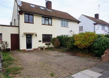 Thumbnail 3 bed semi-detached house for sale in Pembury Crescent, Sidcup