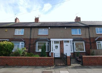 Thumbnail 2 bed terraced house for sale in Regent Road North, Gosforth, Newcastle Upon Tyne