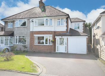 Thumbnail 4 bed semi-detached house for sale in Fabian Crescent, Shirley, Solihull