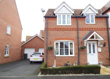 Thumbnail 3 bed semi-detached house for sale in Heacham, Kings Lynn, Norfolk