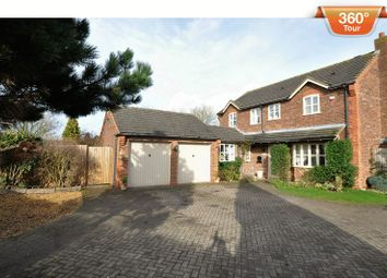 Thumbnail 4 bed detached house for sale in Rake End, Hill Ridware, Rugeley