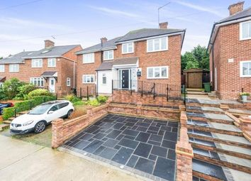 Thumbnail 3 bed semi-detached house for sale in Collier Row, Romford, Essex