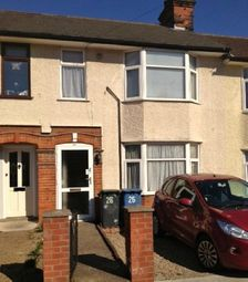 Thumbnail 3 bedroom terraced house to rent in Westbourne Road, Ipswich