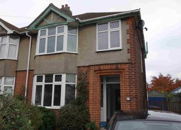 Thumbnail 3 bedroom semi-detached house to rent in Glenavon Road, Ipswich, Suffolk