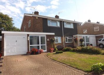 Thumbnail 3 bed semi-detached house for sale in Canon Close, Rochester, Kent, England