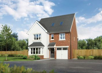 "Thumbnail 6 bed detached house for sale in ""Longrush"" at Padgbury Lane, Congleton"