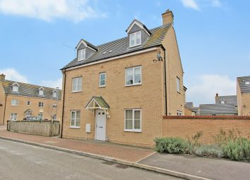 Thumbnail 4 bed semi-detached house for sale in Kides Crescent, Longstanton, Cambridge