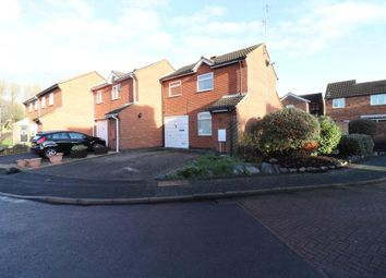 Thumbnail 2 bedroom semi-detached house for sale in Pochins Close, Wigston, Leicester