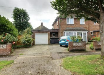 Thumbnail 3 bed end terrace house for sale in Greenwood Avenue, Cheshunt, Waltham Cross