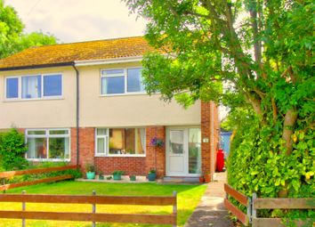 Thumbnail 3 bed semi-detached house for sale in Stryd Llewelyn, Llanfaes, Beaumaris
