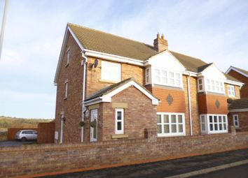 Thumbnail 4 bed semi-detached house to rent in Beddow Court, Witton Park, Bishop Auckland