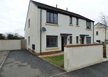 Thumbnail 3 bedroom semi-detached house to rent in Kellands Lane, Okehampton