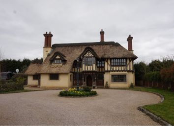 Thumbnail 4 bed detached house for sale in Sapcote Road, Hinckley