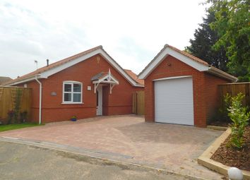 Thumbnail 3 bed detached bungalow for sale in High Hall Close, Trimley St Martin