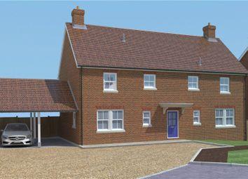 Horsebridge Road, Broughton, Stockbridge, Hampshire SO20. 4 bed detached house for sale