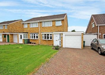 Thumbnail 3 bed semi-detached house for sale in Laburnum Drive, Royal Wootton Bassett, Wiltshire