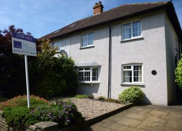 Thumbnail 3 bed semi-detached house for sale in Upper Mulgrave Road, Cheam, Sutton
