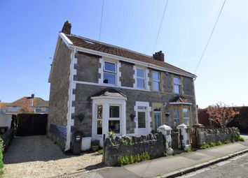 Thumbnail 3 bed semi-detached house for sale in Ewart Road, Weston-Super-Mare