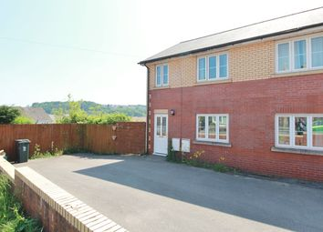 Thumbnail 4 bed semi-detached house for sale in Tregwilym Road, Rogerstone, Newport
