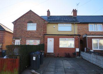 Thumbnail 2 bed terraced house for sale in Pelham Road, Ward End, Birmingham