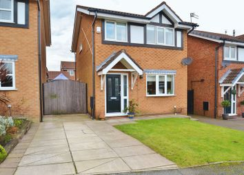 Thumbnail 3 bed detached house for sale in Apperley Grange, Eccles, Manchester