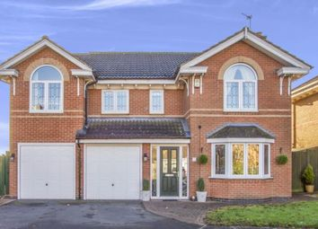 Thumbnail 5 bed detached house for sale in Yew Close, Leicester Forest East, Leicester, Leicestershire