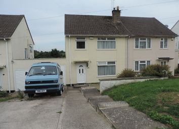 Thumbnail 3 bed semi-detached house for sale in Kinsale Road, Whitchurch, Bristol