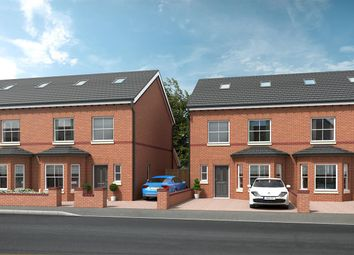 Thumbnail 4 bed semi-detached house for sale in Plot 1, Gloucester Road, Urmston