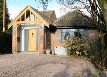 Thumbnail 3 bed detached bungalow for sale in Leicester Road, Markfield