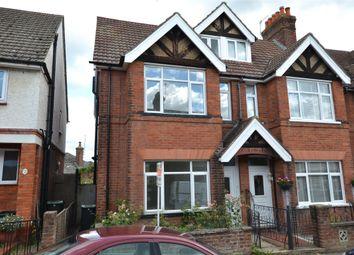 Thumbnail 4 bed semi-detached house to rent in Meadow Road, Tonbridge, Kent