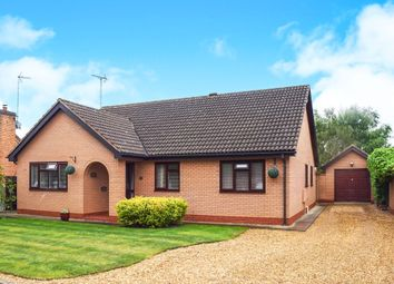 Thumbnail 3 bed detached bungalow for sale in Eyebury Road, Eye, Peterborough