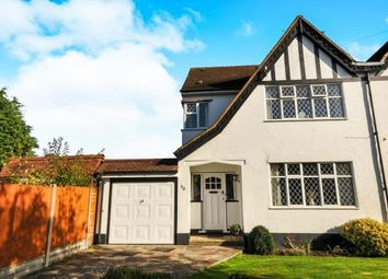 Thumbnail 4 bed semi-detached house for sale in Courtlands Avenue, Hayes, Bromley, Kent