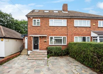 Thumbnail 4 bed semi-detached house for sale in Windsor Drive, Orpington, Kent