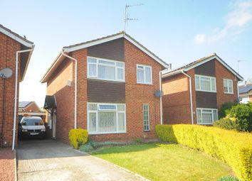 Thumbnail 3 bedroom detached house for sale in Popplechurch Drive, Swindon
