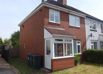 Thumbnail 4 bed semi-detached house to rent in Walsall Street, Canley, Coventry