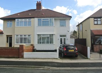 Thumbnail 3 bed semi-detached house for sale in Easton Road, Huyton, Liverpool