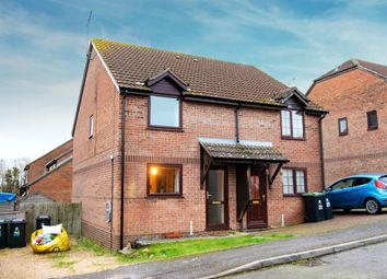 Thumbnail 2 bedroom semi-detached house for sale in Butt Close, Puddletown, Dorchester