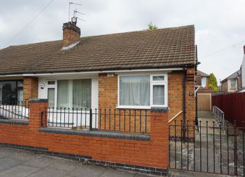 Thumbnail 2 bed semi-detached bungalow for sale in Orton Road, Leicester