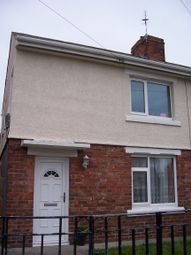 Thumbnail 3 bed semi-detached house to rent in Queens Road, Bedlington Station