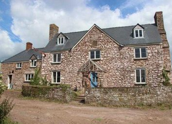 Thumbnail 6 bed detached house for sale in Llewyn - Y- Celyn Farm House, Shirenewton, Chepstow