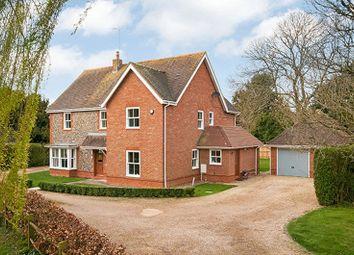 Thumbnail 5 bed detached house for sale in Muss Lane, Kings Somborne, Stockbridge