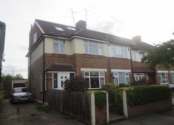 Thumbnail 4 bed end terrace house to rent in Rugby Avenue, Greenford