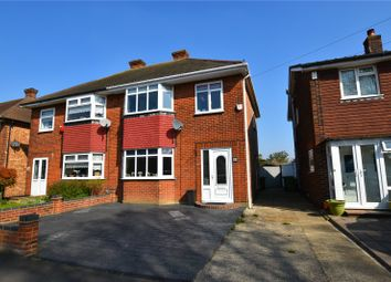 Thumbnail 3 bed semi-detached house for sale in Haslemere Road, Bexleyheath, Kent