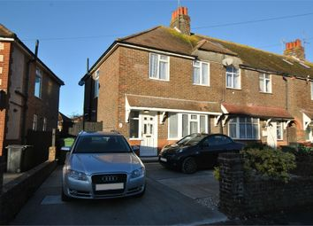 Thumbnail 3 bed end terrace house for sale in Queens Crescent, Eastbourne, East Sussex