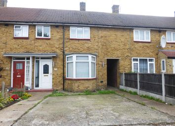 Thumbnail 3 bed end terrace house to rent in Hilldene Avenue, Harold Hill