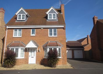 Thumbnail 5 bed detached house for sale in Hansel Close, Peterborough