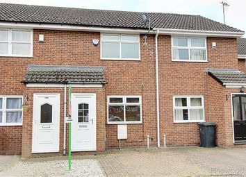 Thumbnail 2 bed terraced house to rent in Holland Road, Chesterfield, Debyshire