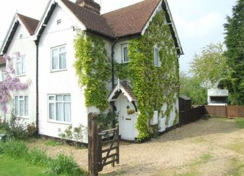 Thumbnail 2 bed semi-detached house to rent in Aston Clinton Road, Weston Turville, Aylesbury